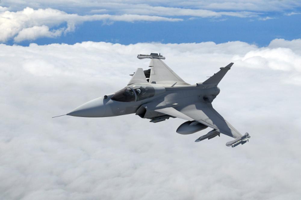 Ministro da Defesa esclareceu os termos do contrato assinado com a SAAB. (Imagem: SAAB)