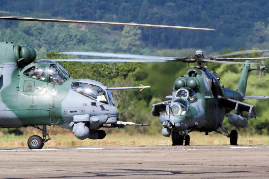Mi-35 FAB (Imagem: Agência Força Aérea)