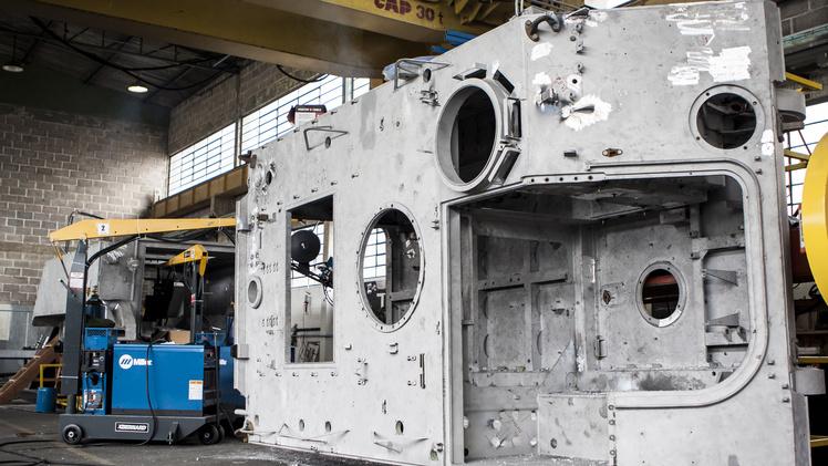 Os trabalhos de modernização são executados no Brasil e contam com transferência de tecnologia. (Imagem: BAE Systems)