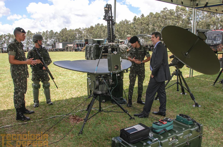 Antenas de Comunicações rádio e por satélite. (Imagem: Roberto Caiafa)