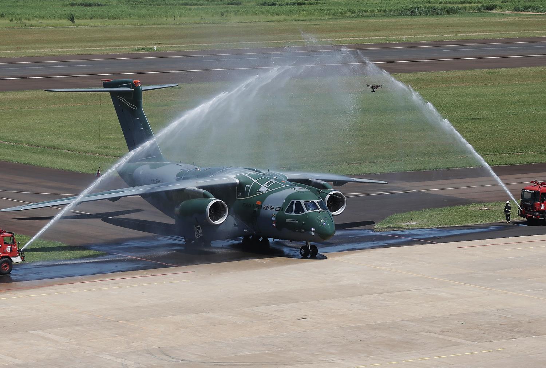 Portugal é signatário de uma carta de intenção para aquisição de seis KC-390. (Imagem: EDS)