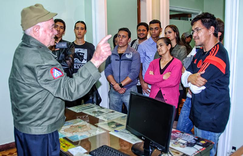 Foto04_Museu_FEB_BH_Veterano_Cabo_Joao_Moreira_Caiafa