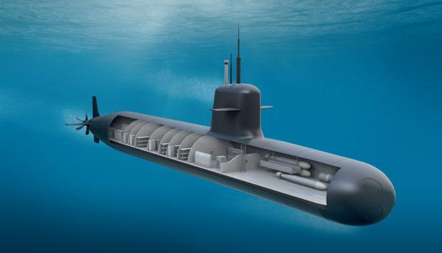 Prosub nuclep entrega mais uma se o do submarino sbr 2 for Interior submarino