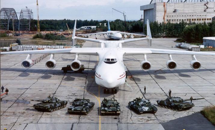 Apenas um An-225 foi produzido pela fabricante ucraniana. (Imagem: Antonov ASTC)