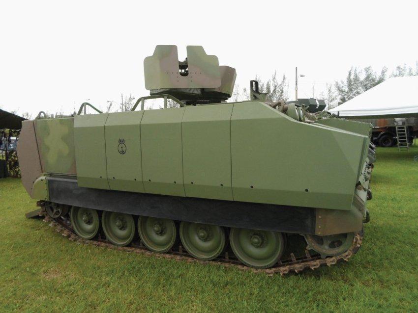 Entre as melhorias figuram novas armaduras blindadas externas. (Imagem: ILBE)