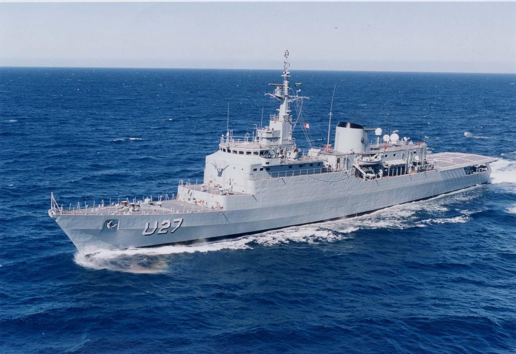 A construção do NE Brasil foi iniciada em 1981 no Arsenal de Marinha do Rio de Janeiro. (Imagem: Marinha do Brasil)