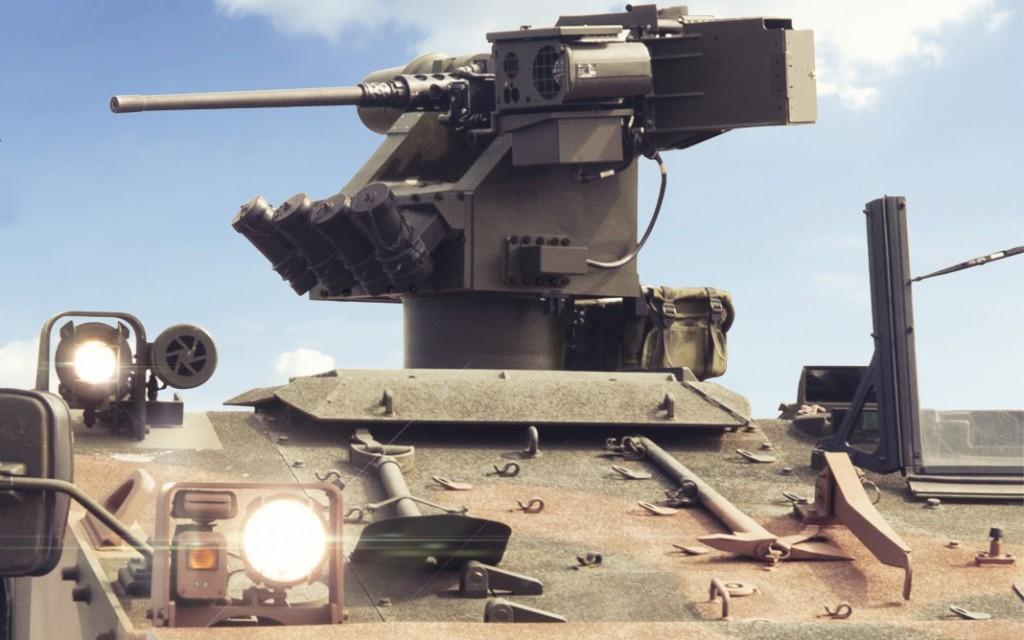 Estação de armas remotamente controlada REMAX (Imagem: ARES)
