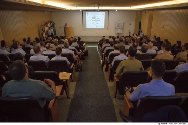 O objetivo do Seminário é a coleta de informações para desenvolvimento de projetos futuros. (Imagem: Agência Força Aérea)