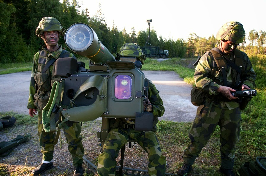 O RBS 70 NG é um sistema para baixa altitude telecomandado com dispositivo de pontaria aperfeiçoado. (Imagem: Saab)