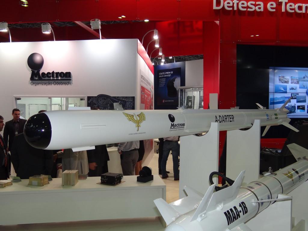 A produção do A-Darter envolverá industrias brasileiras. (Imagem: Ivan Plavetz)