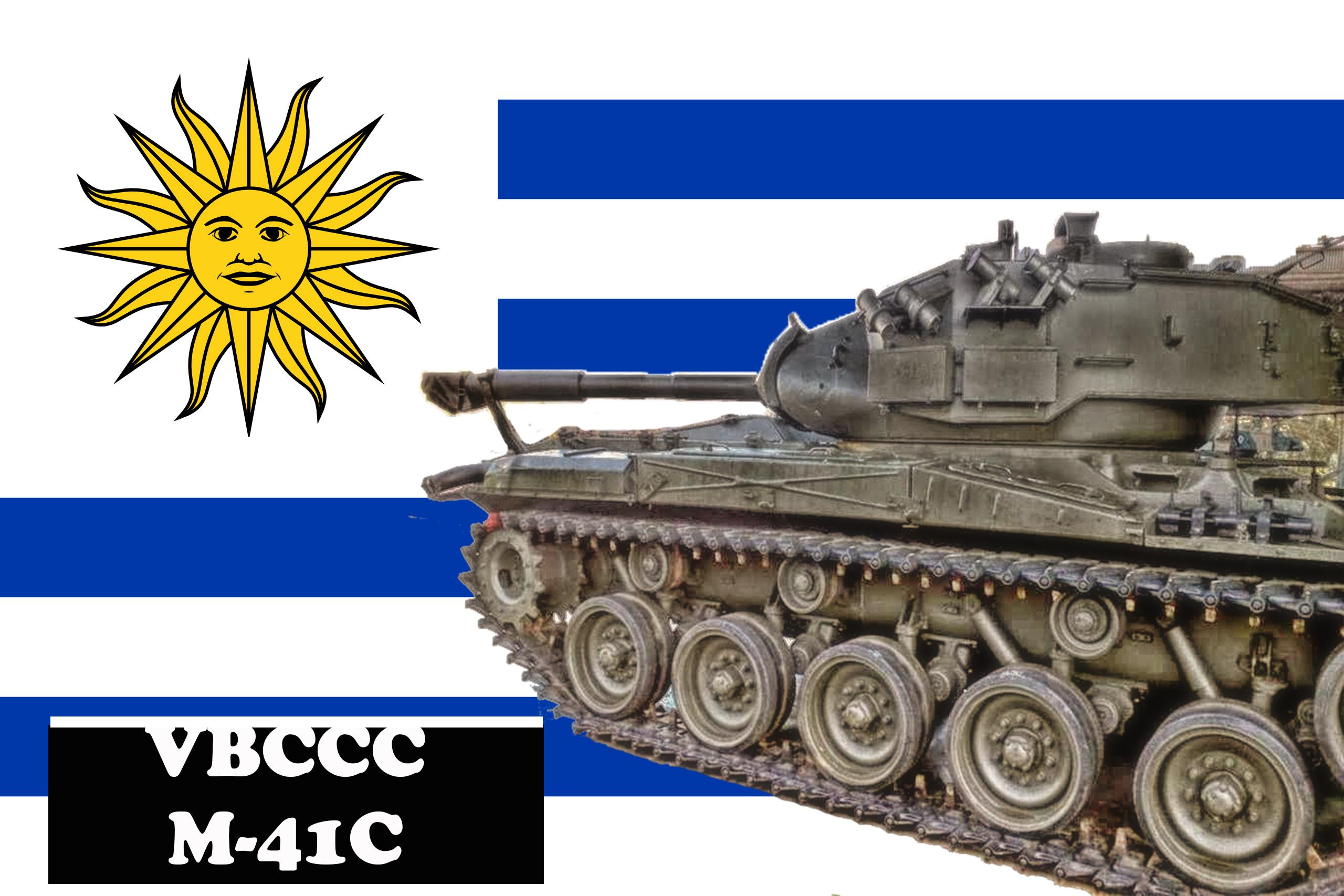 EJÉRCITO DE URUGUAY - Página 21 CAPA_M41_URUGUAI