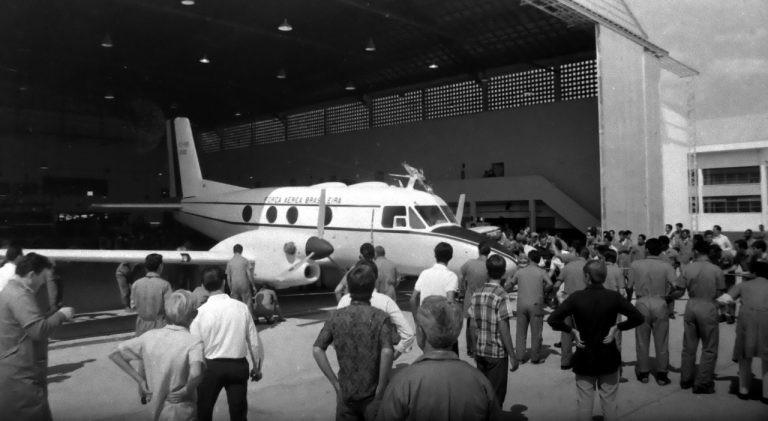 Roll-Out do Bandeirante, 1968.