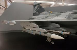 F-39 Gripen E Mock-up na SAM