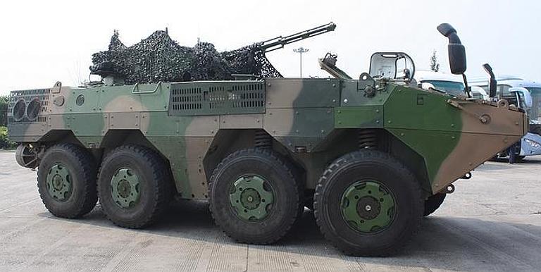 Veículos para combate anfíbio (IFV) de fabricação chinesa estão sendo recebidos pela Infantaria Naval Bolivariana. (Imagem: Chinese Internet)