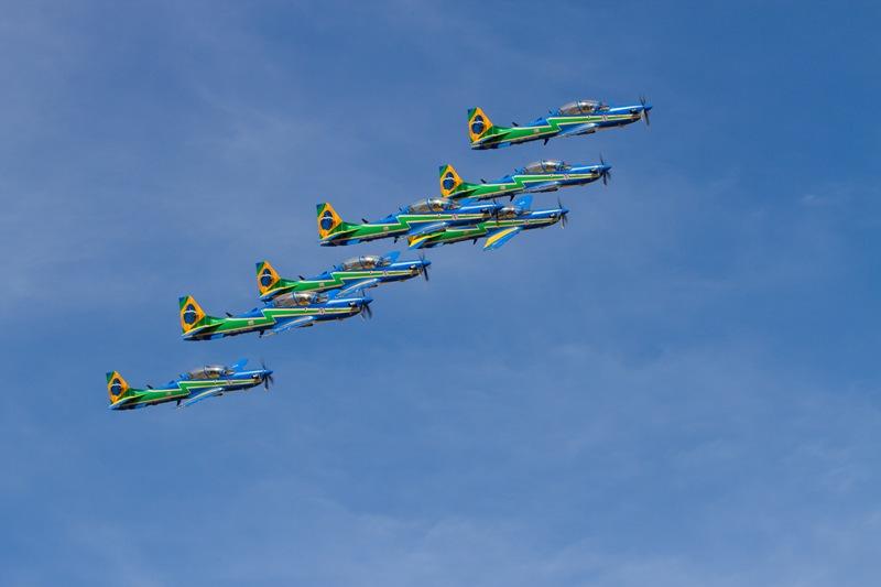 Esquadrilha da Fumaça (Imagem: Agência Força Aérea)
