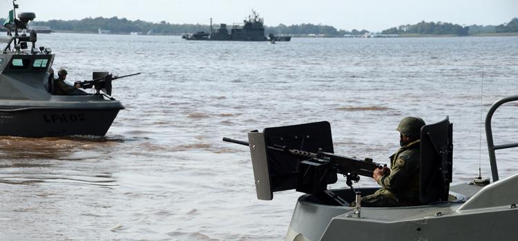 Operação Amazônia. (Imagem: Assessoria de Comunicação do Ministério da Defesa)