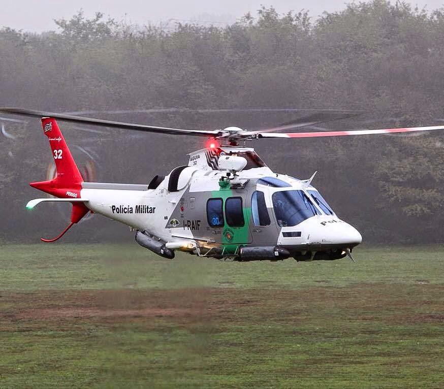 O novo AW 109 Grand New atuará em tarefas de proteção ambiental. (Imagem: Divulgação)