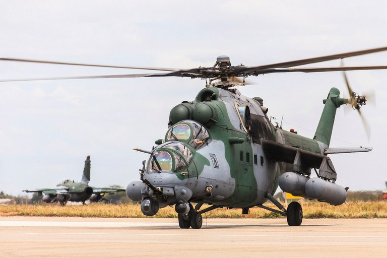 Os AH-2 representam um grande salto na qualidade operacional do Esquadrão Poti na região Amazônica. (Imagem: Agência Força Aérea)