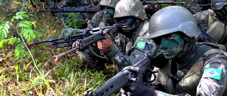 A Operação visa fortalecer o adestramento das tropas da região amazônica. (Imagem: Assessoria de Comunicação do MD)