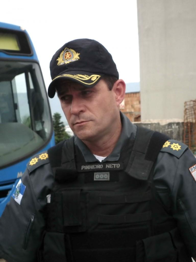 Cel PM Alberto Pinheiro Neto, o novo Comandante-Geral da PMERJ (Imagem: Ronaldo Olive)