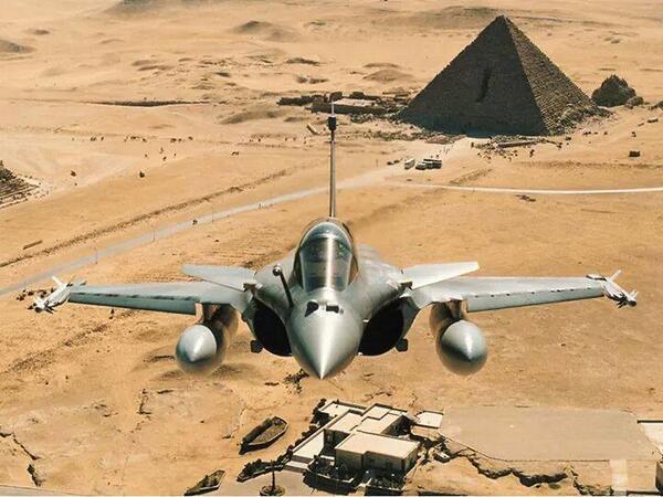 Foto 1 Rafale-Egito .