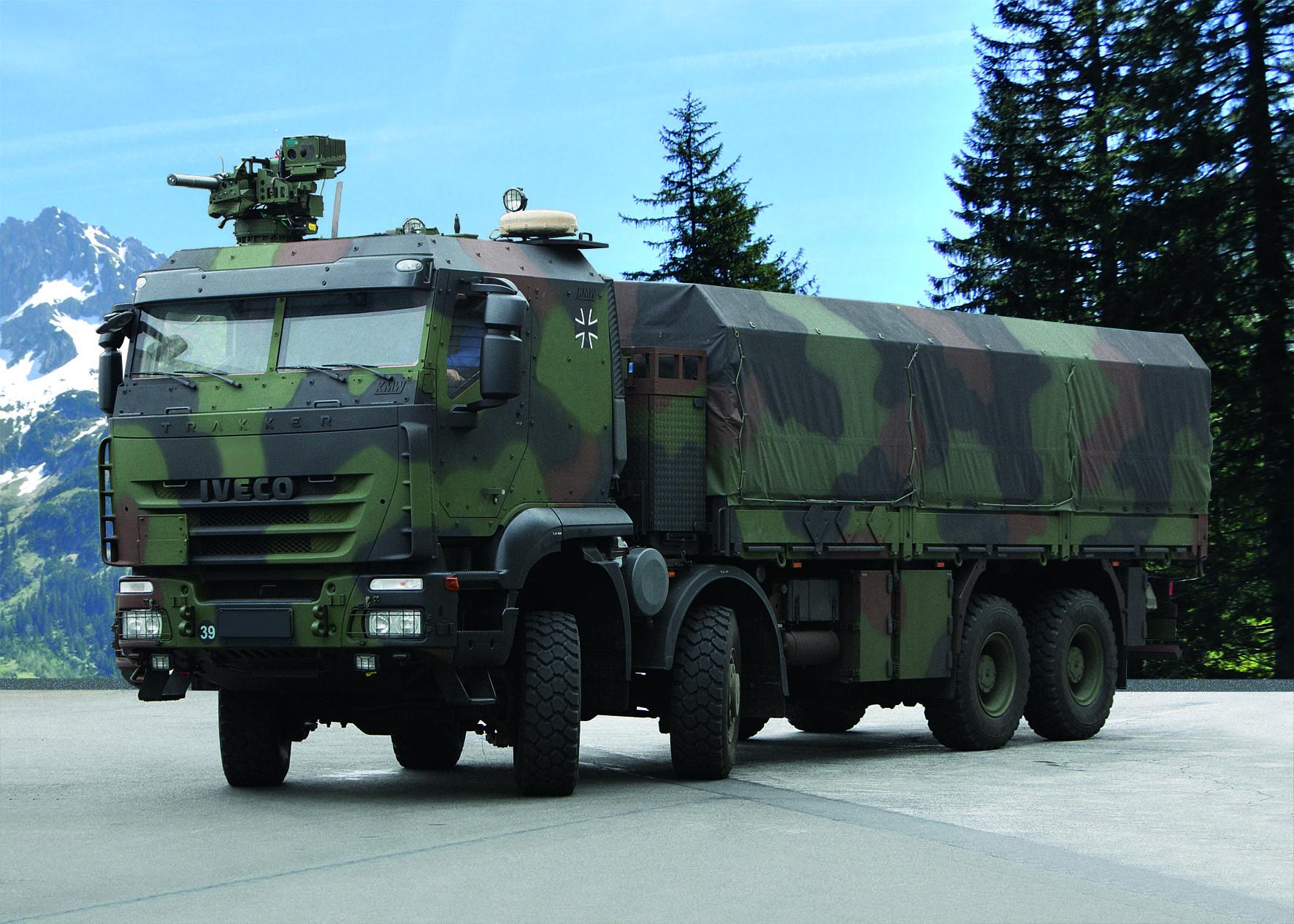 Imagem 1 e 2 Trakker-Bundeswehr