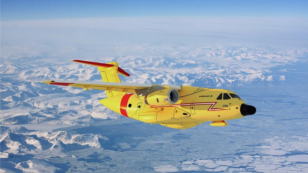 Imagem 1 e 2 KC-390-FWSAR