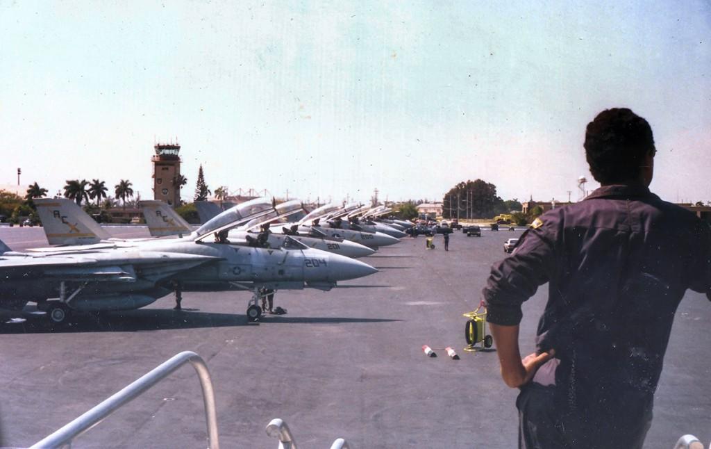 Homestead AFB, F-14 Tomcat