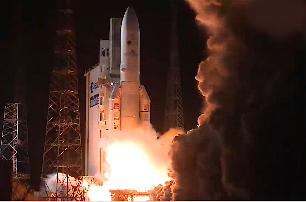Imagem 1 CLBI-Ariane