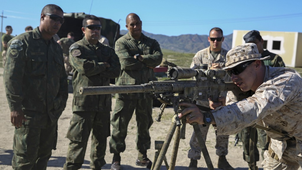 Marines from two continents aim to exchange expertise