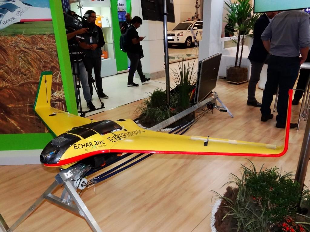 Echar 20C da XMobots, drone projetado para tarefas de mapeamento. (Imagem: Ivan Plavetz)