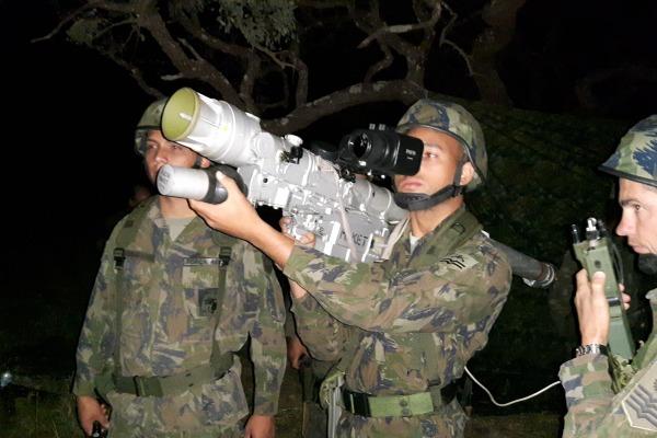 FAB e EB trabalham em conjunto para aprimorar técnicas de defesa antiaérea. (Imagem: BAAN)
