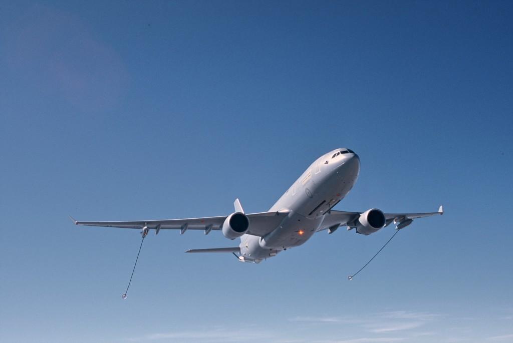 O A330MRTT foi encomendado por sete países. (Imagem: Airbus Defence & Space)