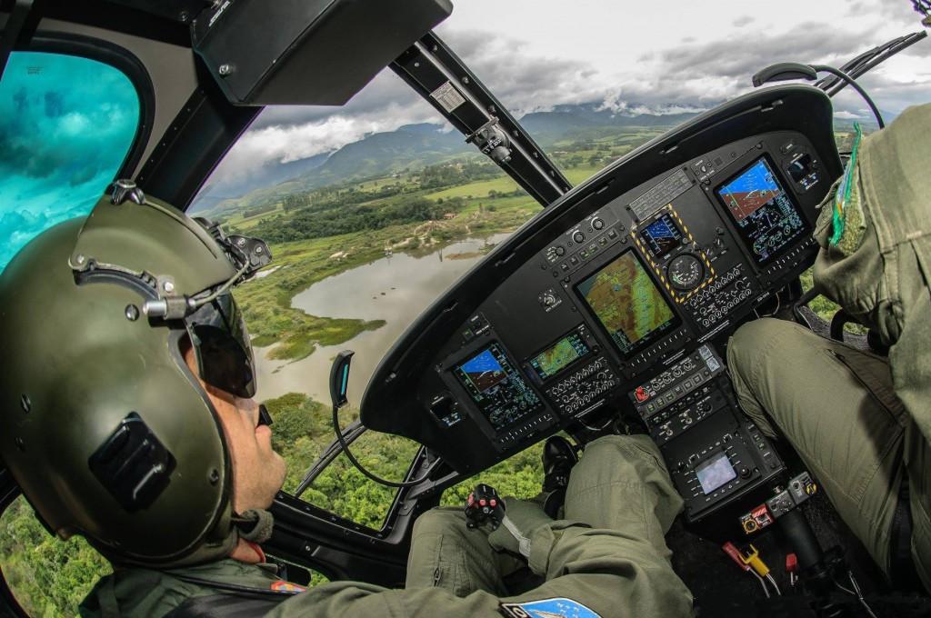 O CPRA-AR visa especializar pilotos e engenheiros para recepção de helicópteros após processos de produção, reparos e revisões. (Imagem: Cees Jan Van der Ende via GEA)