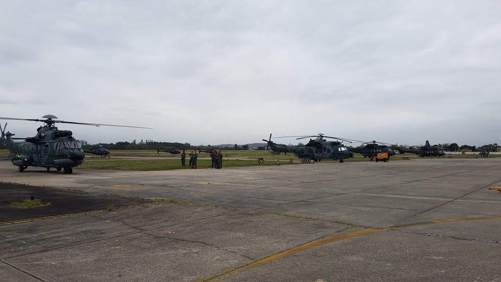 83 helicópteros militares e de segurança da marca Helibras  atuarão durante as Olimpíadas. (Imagem: Helibras/ Mike Polly)