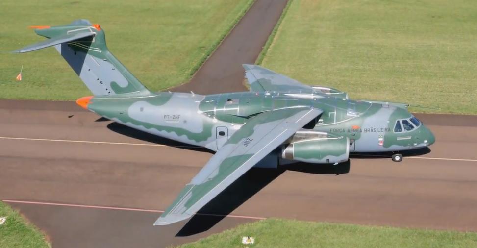 Após voar mais de 30 mil Km KC-390 retorna ao Brasil. (Imagem: Embraer Defesa e Segurança)