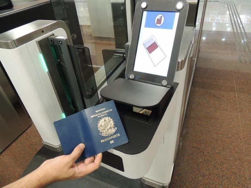 O Aeroporto Internacional de Guarulhos (SP) possui sistemas ARINC ARINC VeriPax™ desde janeiro de 2015. (Imagem: Rockwell Collins/GRU Airport)