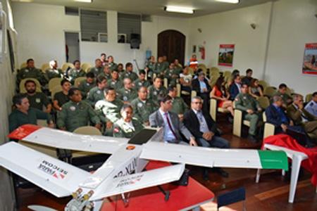 GRAESP inicia curso de operador de sistema de aeronave remotamente pilotada. (Imagem: sargento Carlos Cesar)