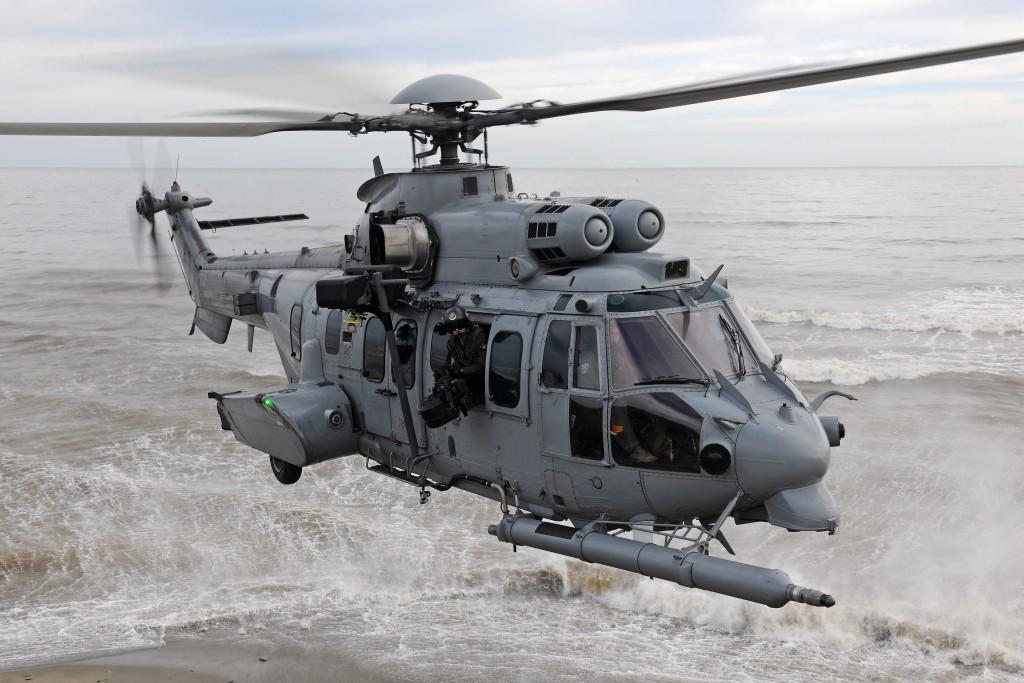 H225M em serviço na Força Aérea da França. (Imagem: Airbus Helicopters)