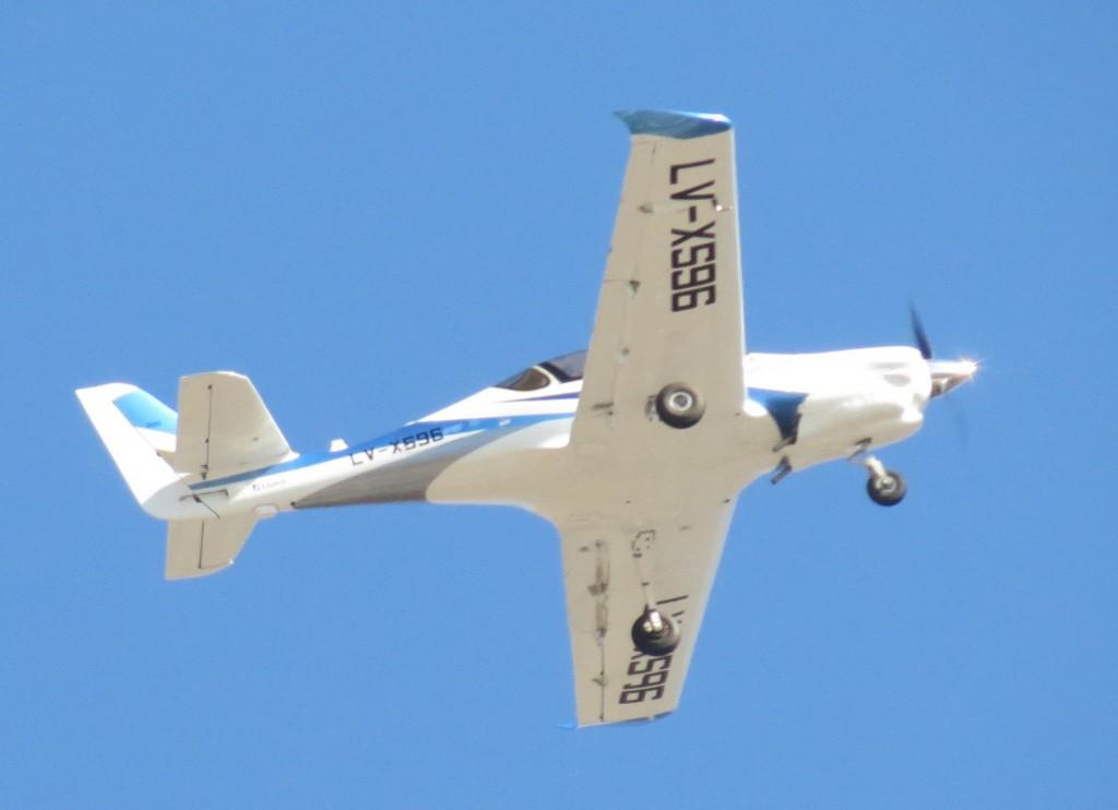 O IA100 será a base de um novo avião de treinamento elementar. (Imagem: Ministério da Defesa da Argentina)