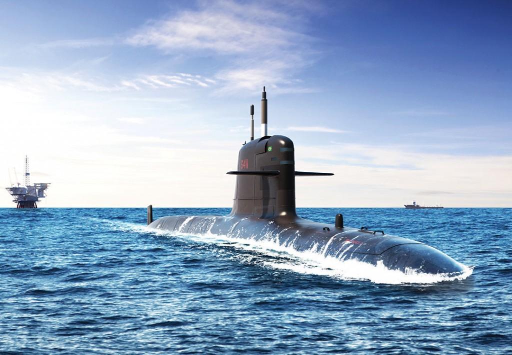 Build Information Modeling (BIM) inova no processo de construção dos novos  submarinos para a Marinha. (Imagem: Gino Marcomini)