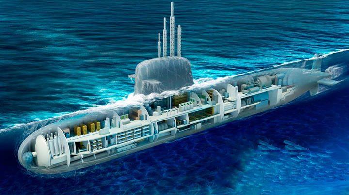 Governo Federal planeja recuperar patamar de investimentos na construção de submarinos para a Marinha. (Imagem: Marinha do Brasil)
